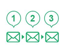ステップメール配信機能